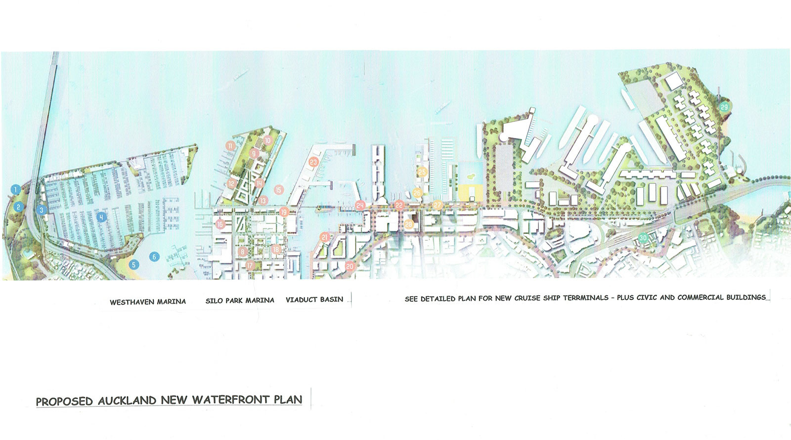 Auckland Waterfront Proposal